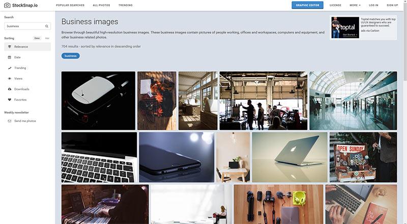 Lizenzfreie Bilder bei Stocksnap.io