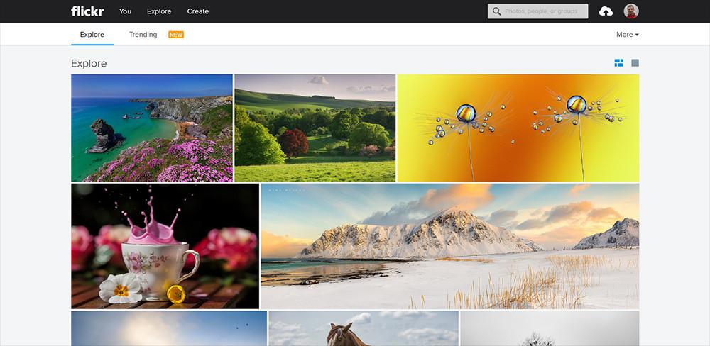 Lizenzfreie Bilder bei Flickr