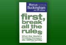 "Buckkritik & Review: ""First, Break All the Rules – What the World's Greatest Managers do Differently"" - Marcus Buckingham"