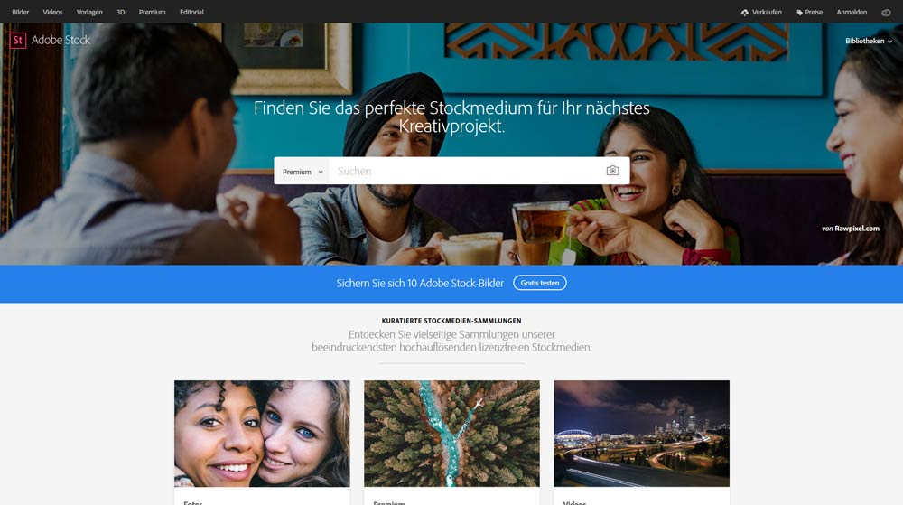 Bildagentur Adobe Stock