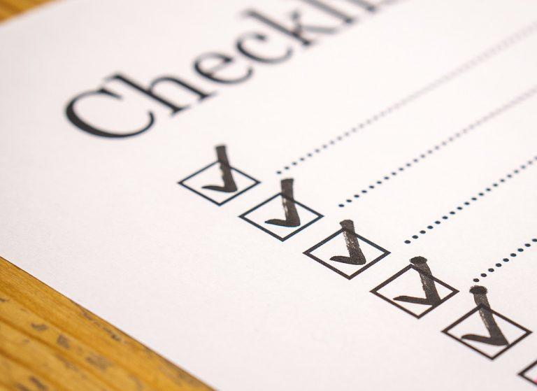 Leitfaden: Checkliste erstellen
