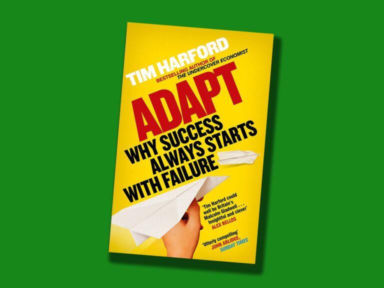 Tim Harford Adapt book